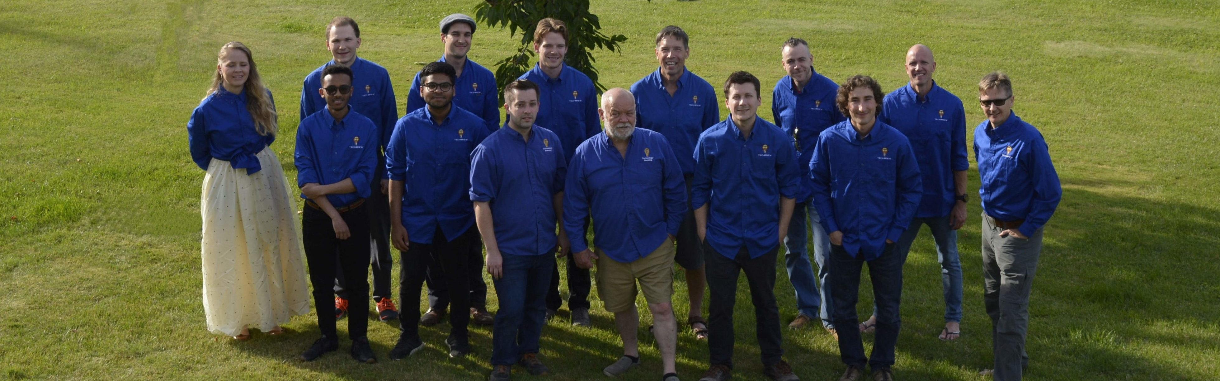 Photo of TechBrew Team 2020